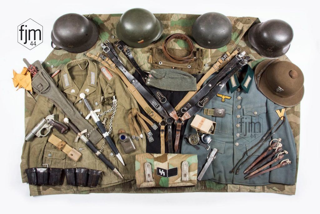 We buy your world war two military items – or your complete